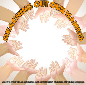 reaching out our hands LOGO